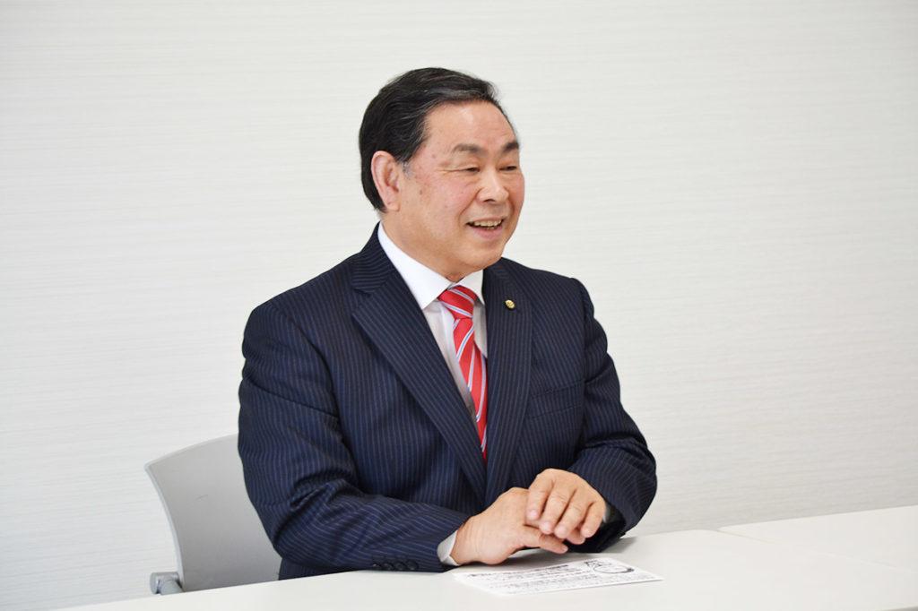 半田市役所で記者会見・山本ひろのぶ